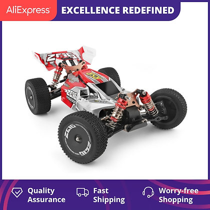 WLtoys 144001 2.4G Racing Remote Control Car / 60 Km/H Metal Chassis 4wd