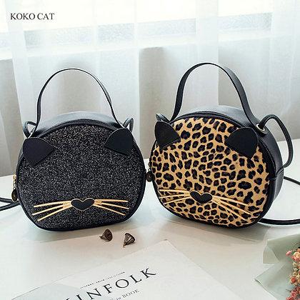 Koko Cat Fashion Messenger Bags Luxury Mini