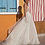 Thumbnail: Verngo - Tulle - Boho Side Slit V-Neck Formal Dress