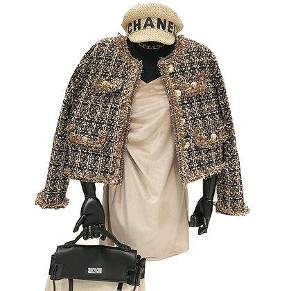 High-Quality Temperament Ladies Style Tweed - Short Elegant Jacket