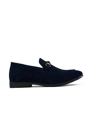 Men's Brass Snaffle Formal Shoes Navy