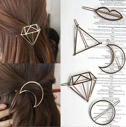 Fashion Metal Leaf Hair Clips
