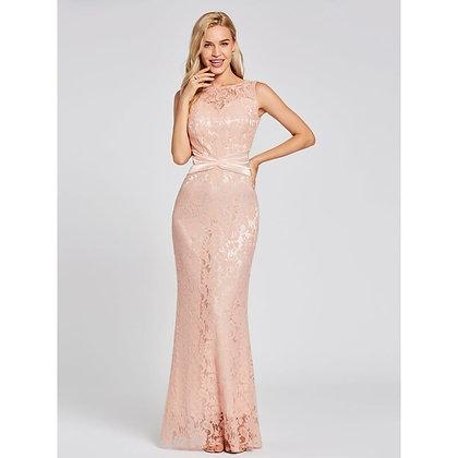 Dressv Peral Pink Floor Length Wedding Party Formal Dress at Googoostore
