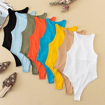 Sexy Slim Beach Jumpsuit Romper Girl Bodysuit / Catsuit