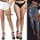 Thumbnail: Sexy Stockings / Hosiery GARTER Elastic Quality Transparent Plus Size Lingerie
