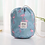Thumbnail: Hot Sale Round Waterproof Makeup Bag Travel Cosmetic Bag Organizer Toiletry