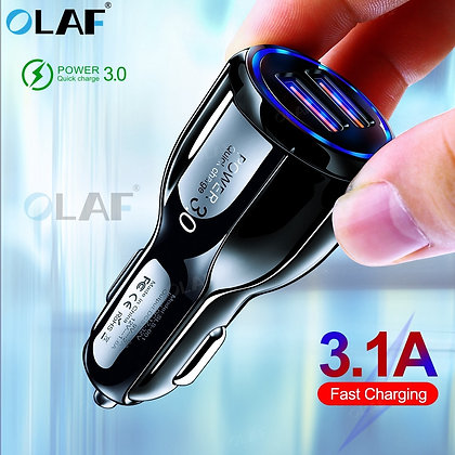 Olaf - Quick Charge 3.0 USB Charger for iPhone 11 Pro Max Samsung A90 A50