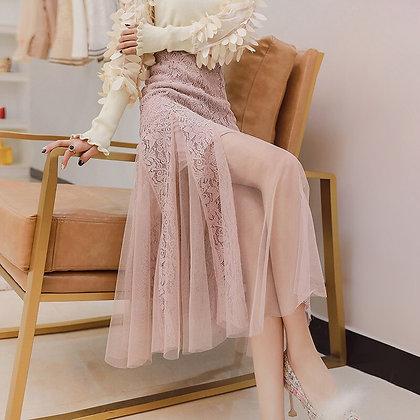 Vintage Empire Mermaid Elegant Lace - Mesh Skirts