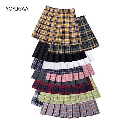 High Waist Pleated Skirts / Slim Waist