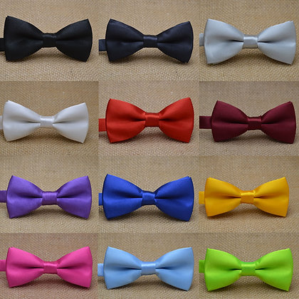 Kid Bowties /25 Solid Colors