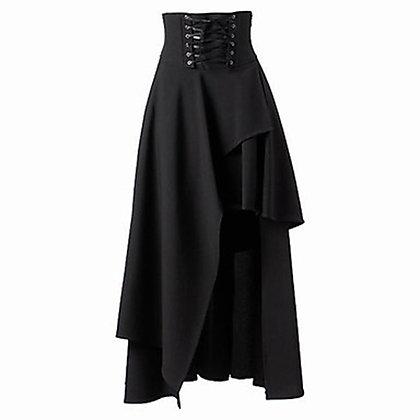 Lolita Strap Gothic High Waist Irregular Steampunk Skirt
