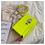 Thumbnail: Simple Chain Crossbody New Pu Leather /Yellow Green Fashion Shoulder Bag