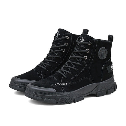 Fashion Lace Up Mens Hiking Boots