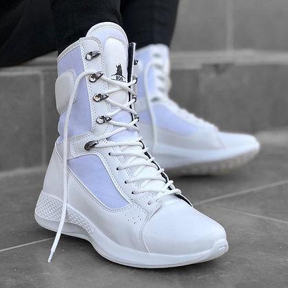 Minea - Plus Size / Lace-Up Ankle Boots
