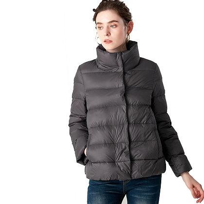 Ultra Light Stand Collar Brand - Parkas Puffer Jacket