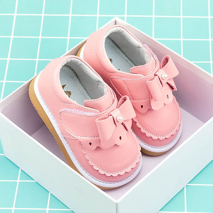 Baby Leather Shoes Diamond Girls Baby Princess Shoes / Genuine Leather Non-Slip