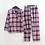 Thumbnail: Stars Casual 100% Cotton Pajamas Sets Men Autumn Winter Cozy Pyjamas