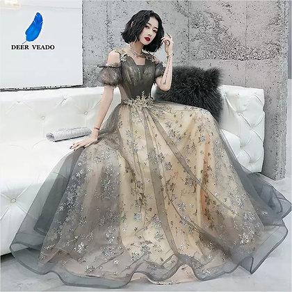 DEERVEADO - Elegant Long Elegant Dress / Formal Party Dresses at Googoostore