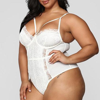 Women Girl Lace Underwear Plus Size Lingerie Corset