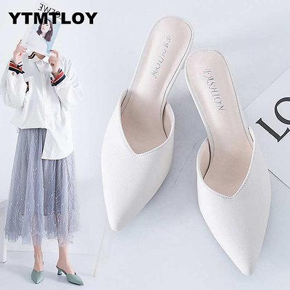 Office Shoes / High Heels Pump 5CM Slip on Sandals