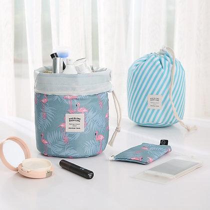 Hot Sale Round Waterproof Makeup Bag Travel Cosmetic Bag Organizer Toiletry