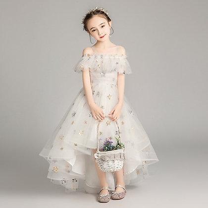 Flower Evening Dress for Girls at Googoostore