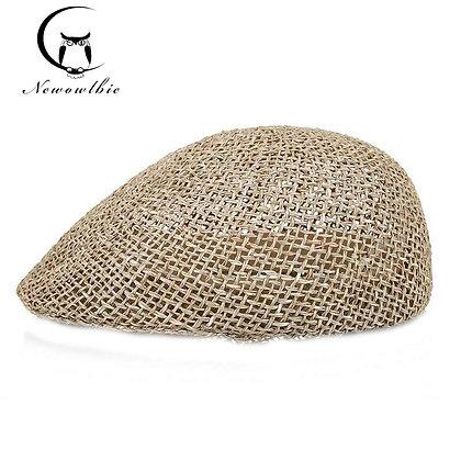 Handmade Straw Hats / Casual Beach Sun Hats at Googoostore