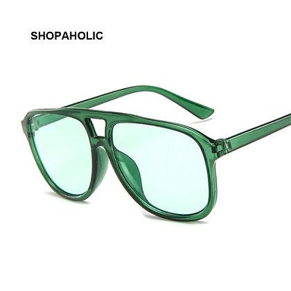 Vintage Oversized Square /Brand Designer Retro Sunglasses