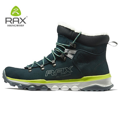 RAX - Fur Lining Anti-Slip Hiking Shoes for Women at Googoostore