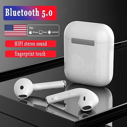 TWS Wireless Earphone Bluetooth 5.0 Headphone Mini in Ear Earbuds HIFI Sound