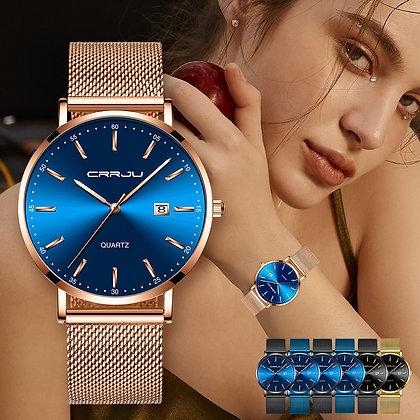 CRRJU - Luxury Fashion Bracelet Watch