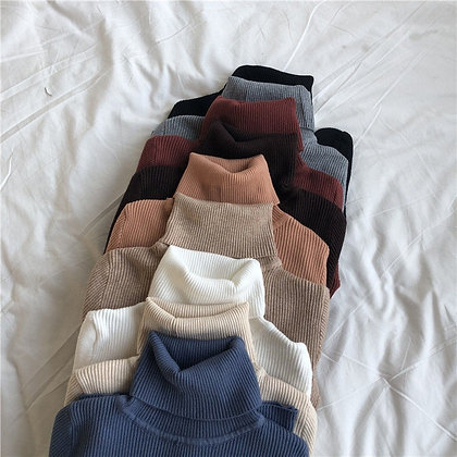 Slim Pullover / Knitted Sweater/Jumpers