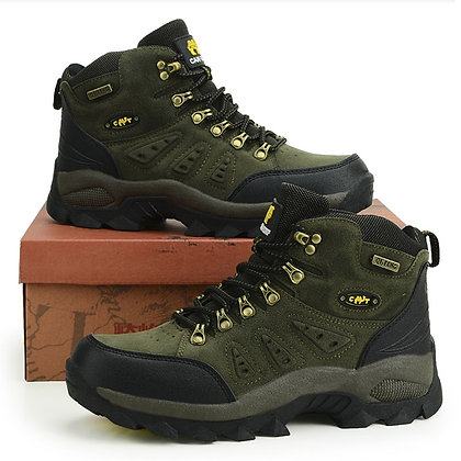 Outdoor Waterproof Hiking Boots / Climbing Hiking Shoes at GOOGOOSTORE