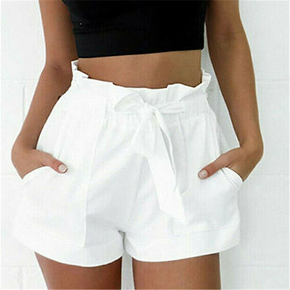 Summer Casual Shorts / Elegant High Waist Short Trousers