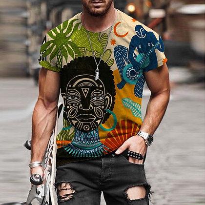 Casual Retro Fashion T-Shirt @ Googoostore