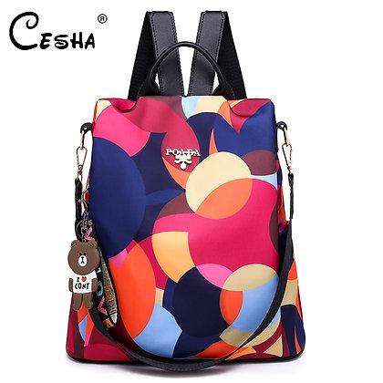 Durable Waterproof Oxford School Bag / Schoolbag Backpack Mochila
