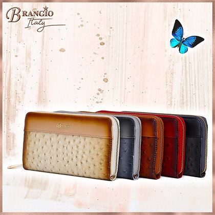 Croquilla Handmade Wristlet Wallet With Multiple Card Pockets