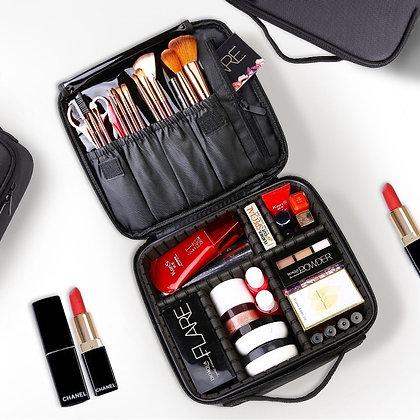 Professional Toiletry Bag Cosmetic Bag Organizer Women Travel Make Up Case