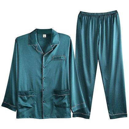 2020 Luxury Silk Pajama Sets at GOOGOOSTORE / Satin Cardigan Sleepwear