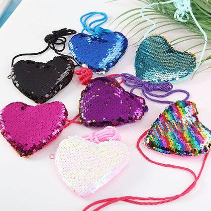 Heart Shape Coin Purses / Shoulder Bag for Kids at Googoostore