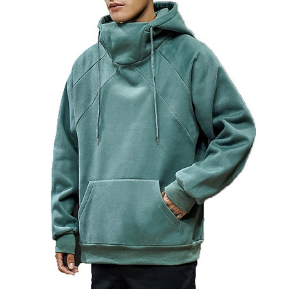 Loose Pullover Round Neck Hoodies