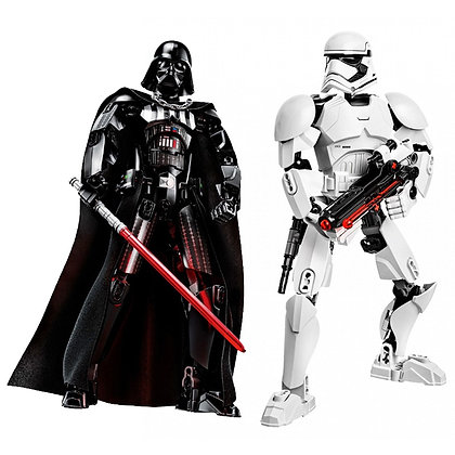 Star Wars Buildable Figure Stormtrooper Darth Vader