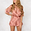 Thumbnail: Elegant Jumpsuit Romper Short Sleeve Sexy Sleepwear