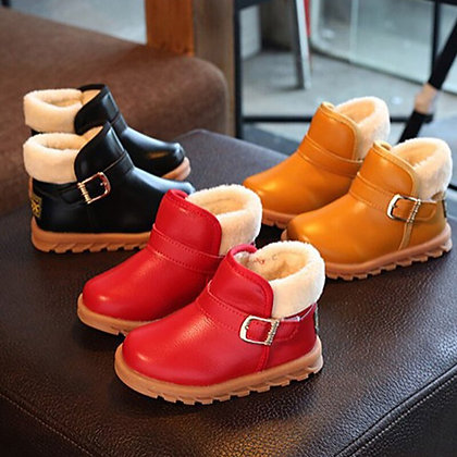 Wool Boots for Kids / Leather - Waterproof