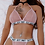 Thumbnail: Lingerie Set New Gold and Silver Perspective Letters Printed
