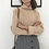 Thumbnail: Turtleneck Knitted Jumper / Casual Loose Long Sleeve Pullover