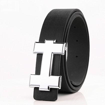 Designer High Quality PU Leather Belt Size 105cm