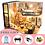 Thumbnail: CUTEBEE DIY Doll House Wooden Doll Houses Miniature Dollhouse Furniture Kit