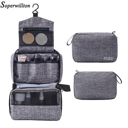 Soperwillton Makeup Bag Toiletry Bags Travel  cosmetic bag /Waterproof