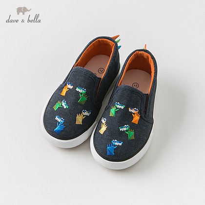 Dave Bella Spring Autumn Unisex Baby Canvas Shoes